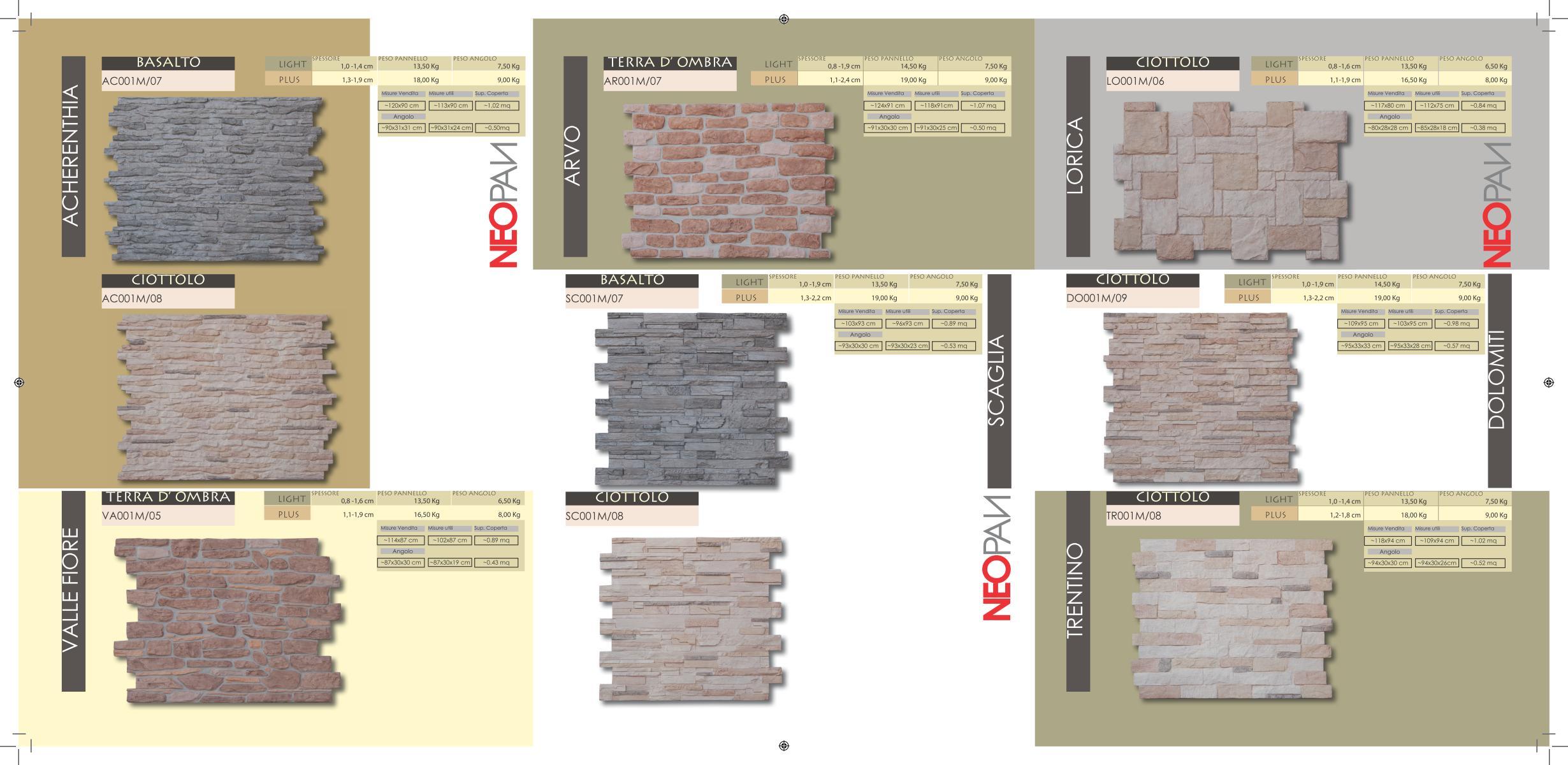 Pannelli in pietra ricostruita home for Polistirolo prezzi